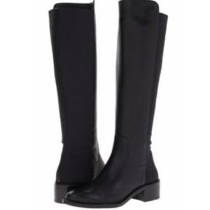 BCBGeneration Jericho Black Silky Leather Boot